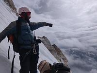 The gradient at the summit, Mount Hanuman Tibba photo