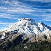 Popocatepetl after a snow storm