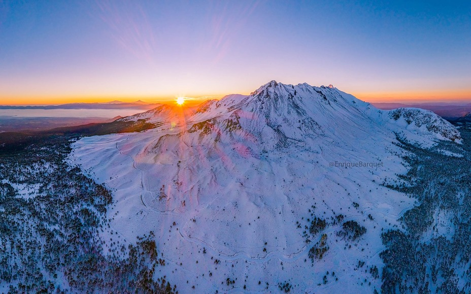 Sunrise at Nevado de Toluca