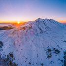 Sunrise at Nevado de Toluca
