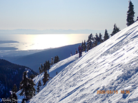 View west from winter route on Mt Seymour, Mount Seymour photo