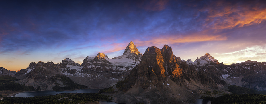 Into the Light, Mount Assiniboine