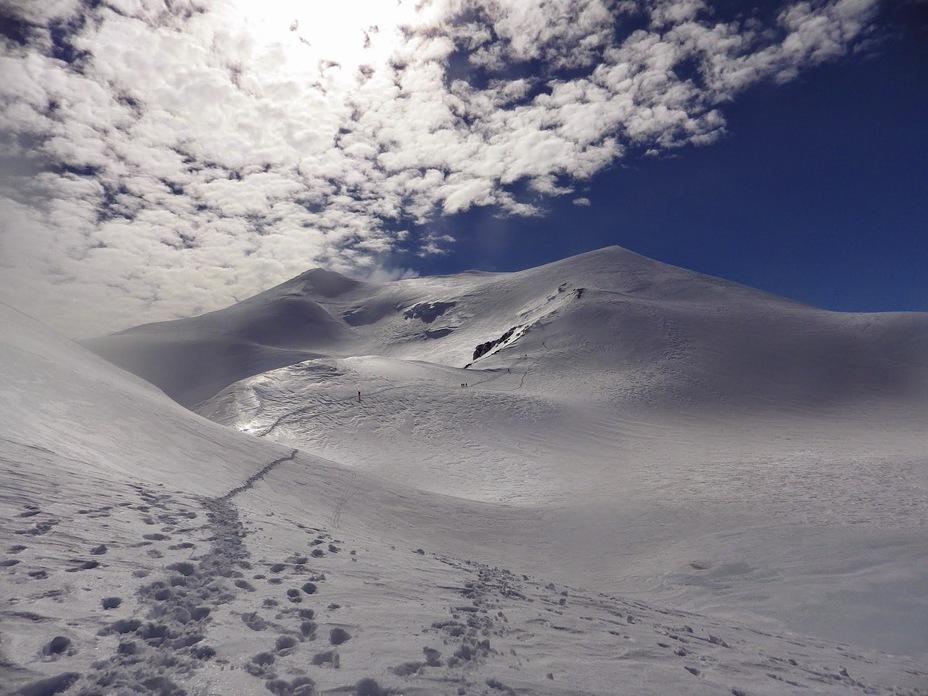 Cumbre nevado de Chillán, Nevados de Chillán
