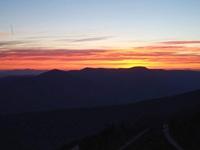 Turo de l'home sunset, Montseny photo