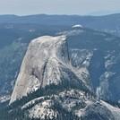 Half Dome and Sentinel Dome