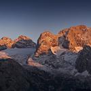 Dachstein last sunrays