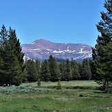 Mt. Gibbs and Tuolumne Meadows, Mt Gibbs