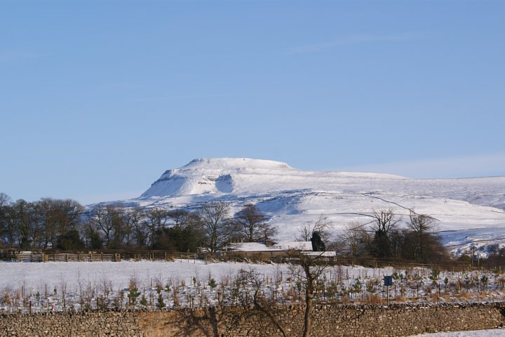Winter view, Ingleborough
