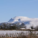 Winter view, Ingleborough