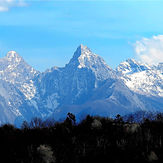 Snowy mountain, Monte Pisanino