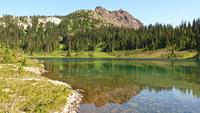 Marble Peak from Globe Flower Lake, Marble Peak (British Columbia) photo
