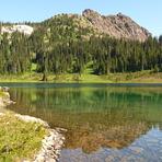 Marble Peak from Globe Flower Lake, Marble Peak (British Columbia)