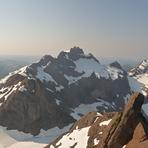 Mt Bate from Thumb Peak, Mount Bate