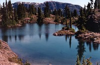 First Lake on Crest Mountain photo