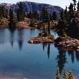 First Lake on Crest Mountain