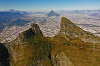 Cerro de la Silla aerea photo