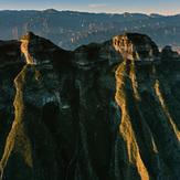 Perico, Piramide y Piñon, Cerro de las Mitras