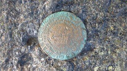 Survey Mark, Mount Marcy