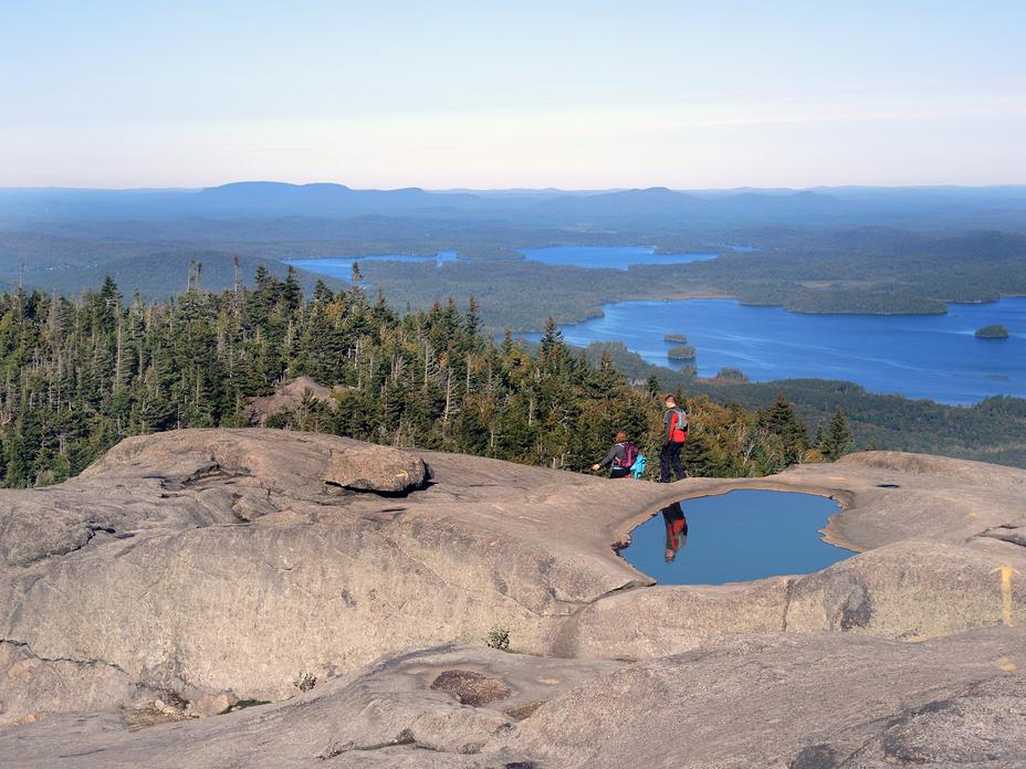 View from Ampersand Mountain, Adirondacks