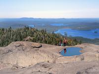 View from Ampersand Mountain, Adirondacks photo