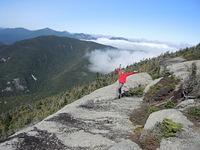 View from Dix Mountain, Adirondacks photo
