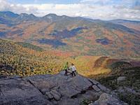 Views from Noonmark Mountain, Adirondacks photo