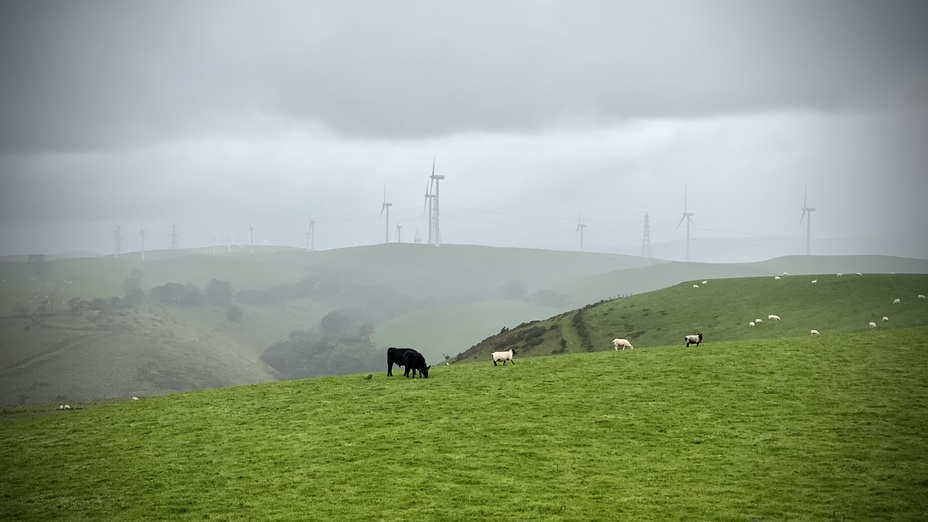 Mynydd y Glyn weather