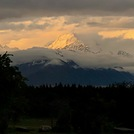 Aoraki/Mt Cook at sunset