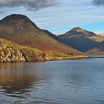 Great Gable across Wast Water