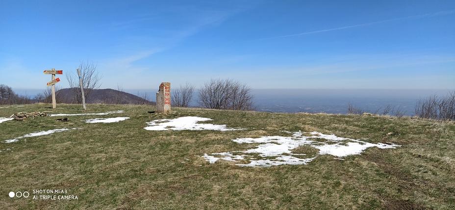vrh Jablanika 1274 m/nv