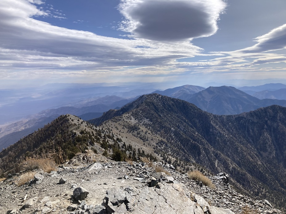 Telescope Peak weather