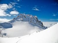 Chüebodenhorn winter shot photo