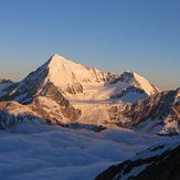 Weisshorn view from Domhutte