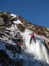 Ice climbing on Cairnsmore of Fleet photo