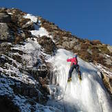 Ice climbing on Cairnsmore of Fleet