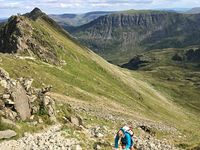 South Edge of Striding Edge, Helvellyn photo