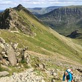 South Edge of Striding Edge, Helvellyn