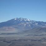 El Condor seen from Mulas Muertas, Cerro El Cóndor