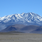 Bonete seen from the Southwest, Cerro Bonete
