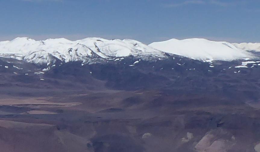 Sierra Nevada de las Lagunas Bravas, Sierra Nevada de Lagunas Bravas