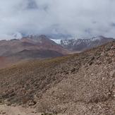 Colanguil from the Northeast, Cordillera De Colanguill