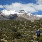 Hualca Hulaca from the approach trek, Hualca Hualca