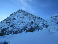 The North Face of Pico Colon, Pico Cristobal Colon photo