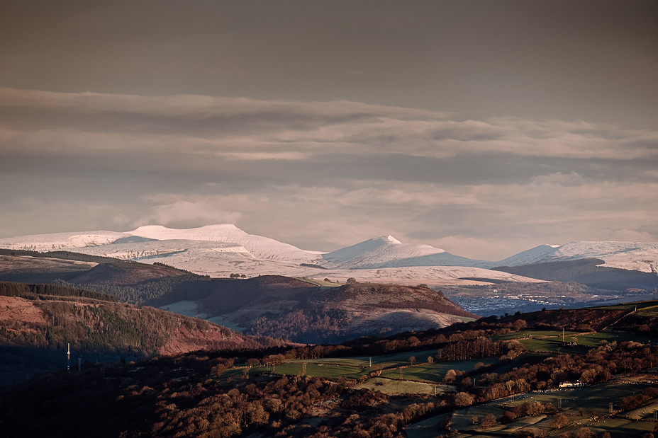 Snowy Brecon Beacons, Pen Y Fan