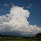 Cumulonimbus Cloud over the Quartz Range. Spring storms for Perry Saddle and the Heaphy track., Perry Saddle (Heaphy Track)