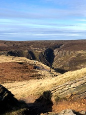 Grindsbrook, Kinder Scout photo
