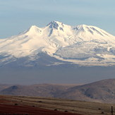 Kartal duruşlu Erciyes..., Mount Erciyes
