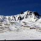 Erciyes eteklerinde kayak merkezli yaşam...