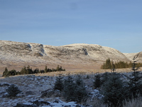 Craignaw from the east in winter photo