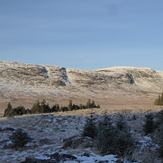 Craignaw from the east in winter